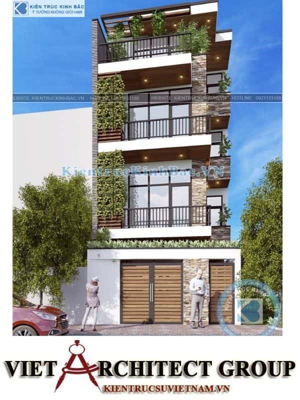 3 9 - Công trình nhà phố hiện đại 4 tầng mặt tiền 5m a Huyên - Hà Nội