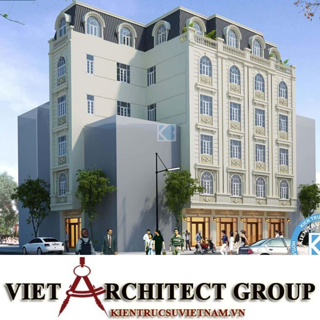 4 26 - Công trình thiết kế khách sạn tân cổ điển chị Nguyệt - Bắc Ninh