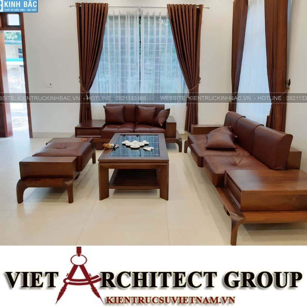 4 31 - Công trình thiết kế biệt thự 2 tầng mái thái anh Quý - Ninh Bình
