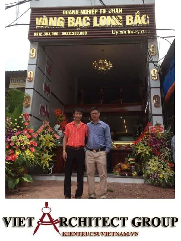 4 32 - Công trình thiết kế nhà ống 5 tầng anh Bắc - Hiệp Hoà, Bắc Giang