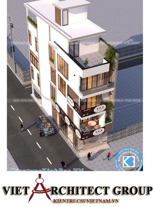 4 33 - Công trình nhà phố 5 tầng 2 mặt tiền anh Thành - Bắc Giang