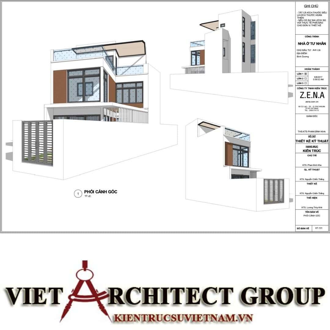 4 40 - Nhà ở hiện đại 150m2 anh Lộc, Bình Dương