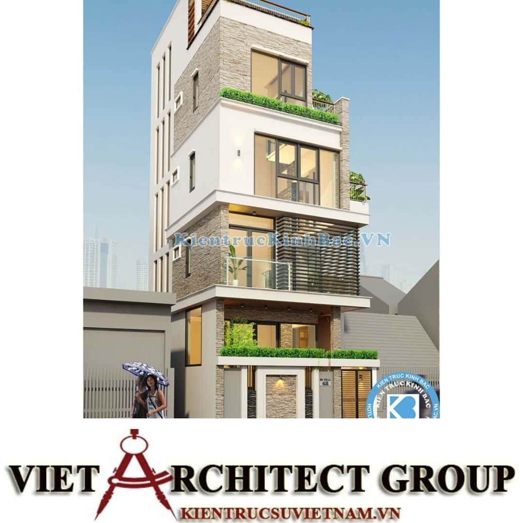 4 8 - Công trình nhà phố 4 tầng mặt tiền 9m anh Định - Hà Nội