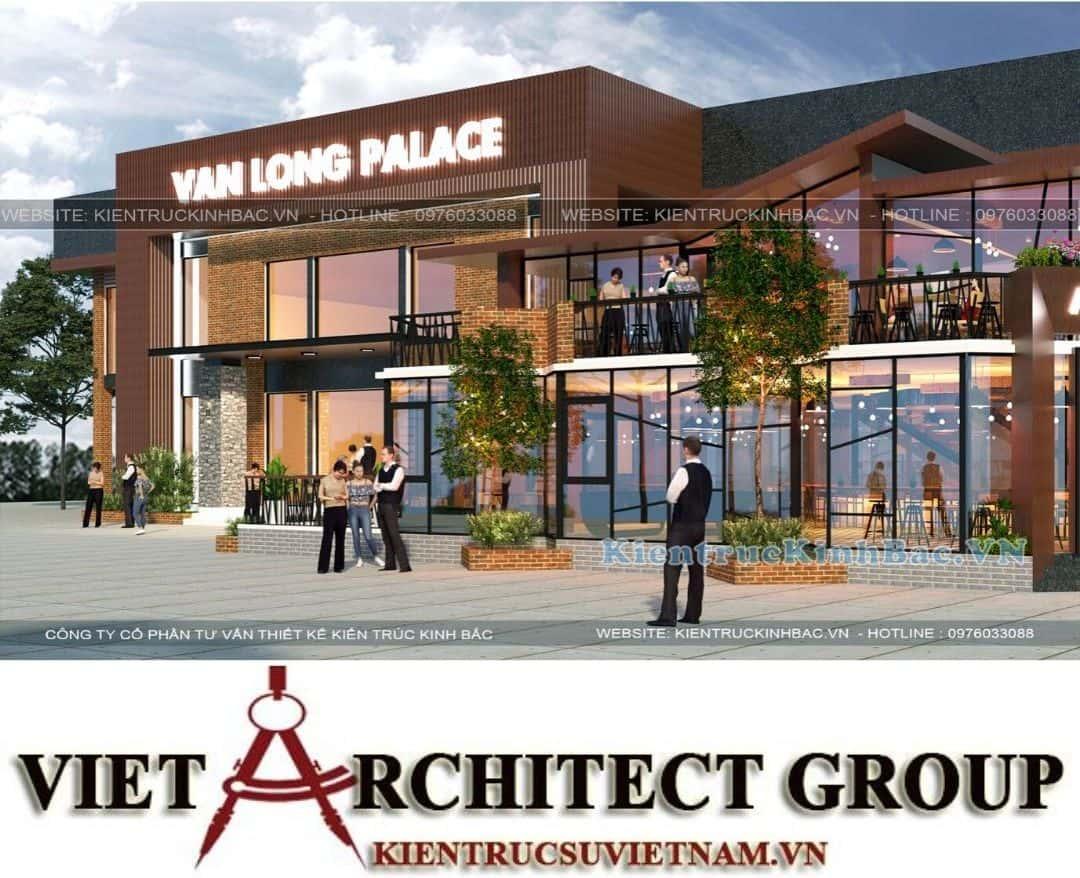 4 9 - Thiết kế tổ hợp kinh doanh nhà hàng Vân Long