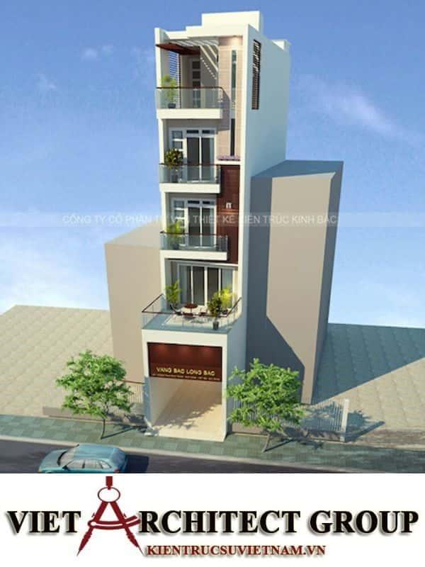 5 20 - Công trình thiết kế nhà ống 5 tầng anh Bắc - Hiệp Hoà, Bắc Giang