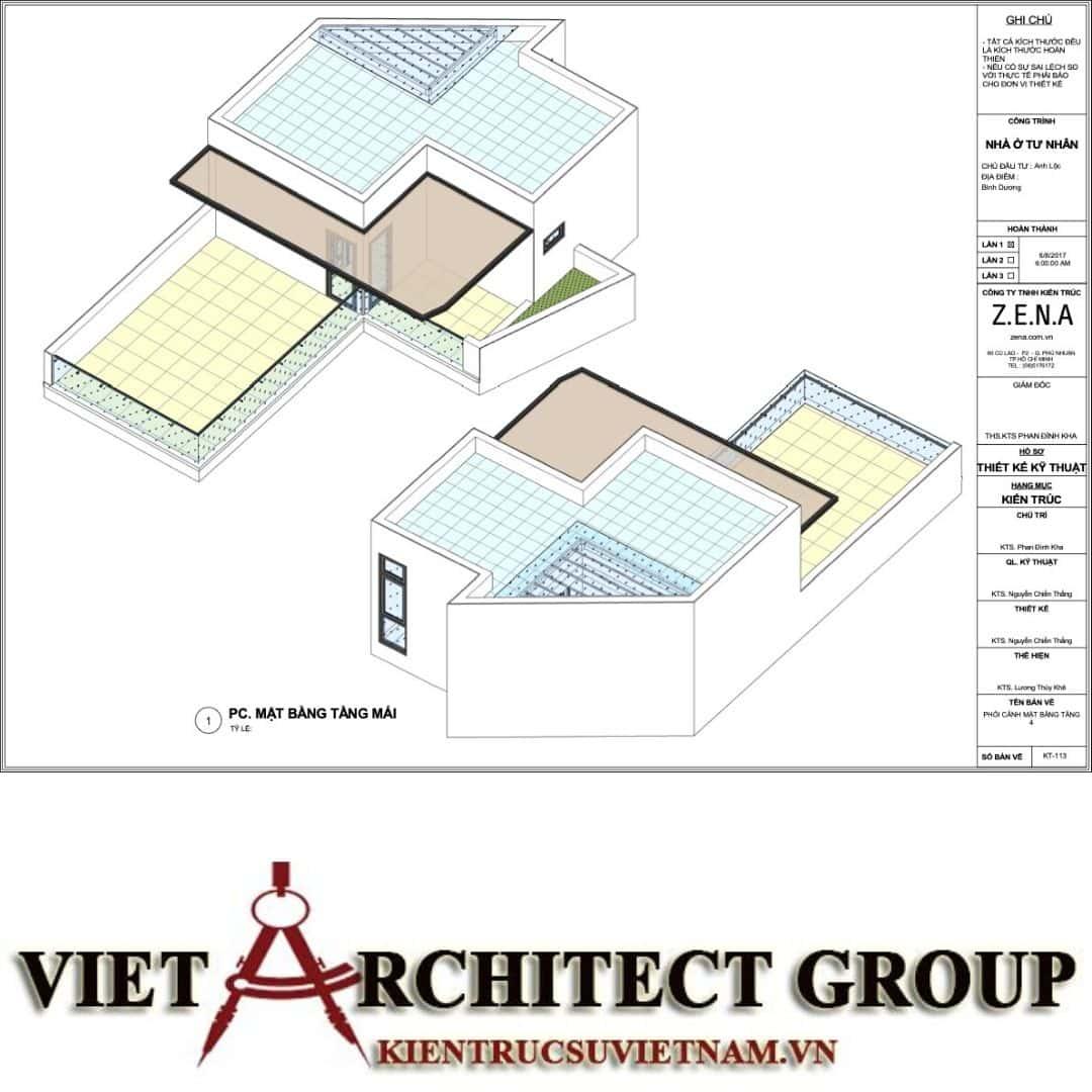 5 27 - Nhà ở hiện đại 150m2 anh Lộc, Bình Dương