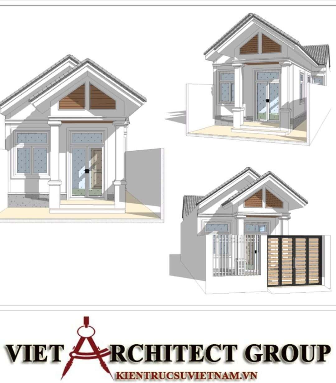 5 31 - Công trình nhà ở trệt mái thái diện tích 120m2 Mr Thi - Thủ Đức, TPHCM