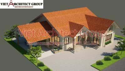 5 32 400x229 - Công trình thiết kế biệt thự 1 tầng mái thái a Tuấn - Lai Châu