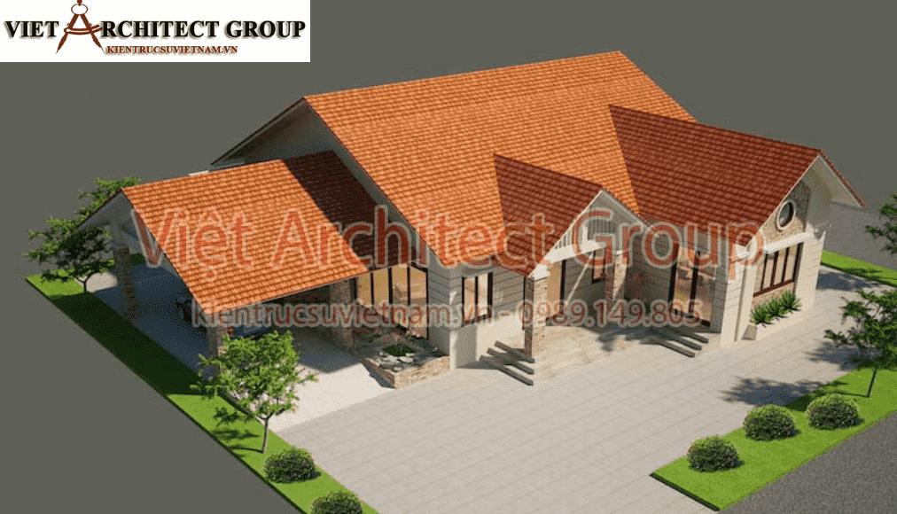 5 - Thiết kế nhà 1 tầng đẹp