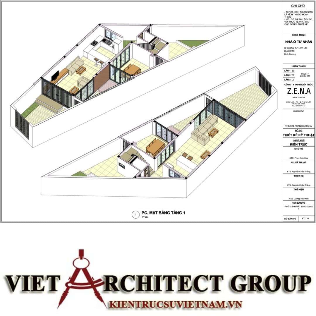 6 16 - Nhà ở hiện đại 150m2 anh Lộc, Bình Dương