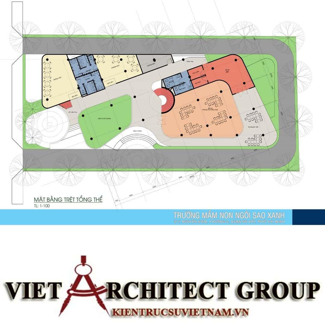 7 10 - Thiết kế trường mầm non quận Gò Vấp tiêu chuẩn quốc gia