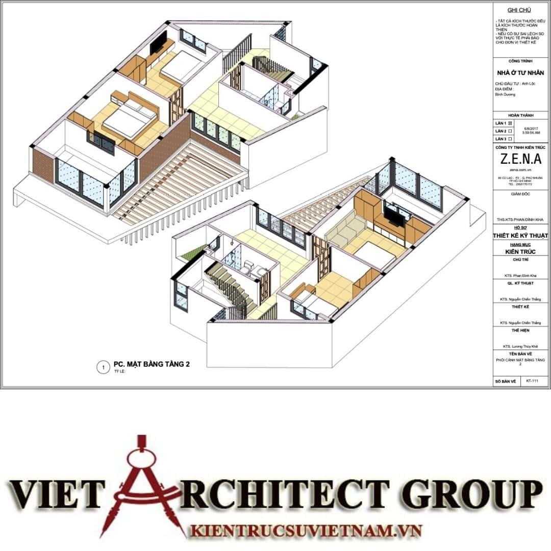 7 12 - Nhà ở hiện đại 150m2 anh Lộc, Bình Dương
