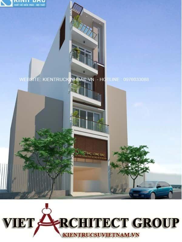 7 8 - Công trình thiết kế nhà ống 5 tầng anh Bắc - Hiệp Hoà, Bắc Giang