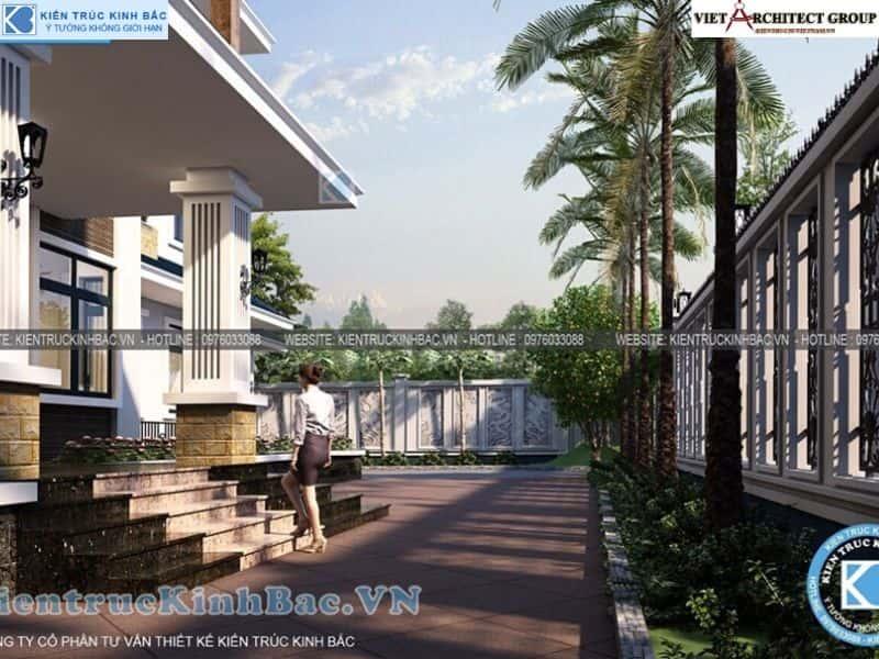 8 1 - Công trình thiết kế biệt thự 2 tầng mái thái anh Cảnh - Hoà Bình