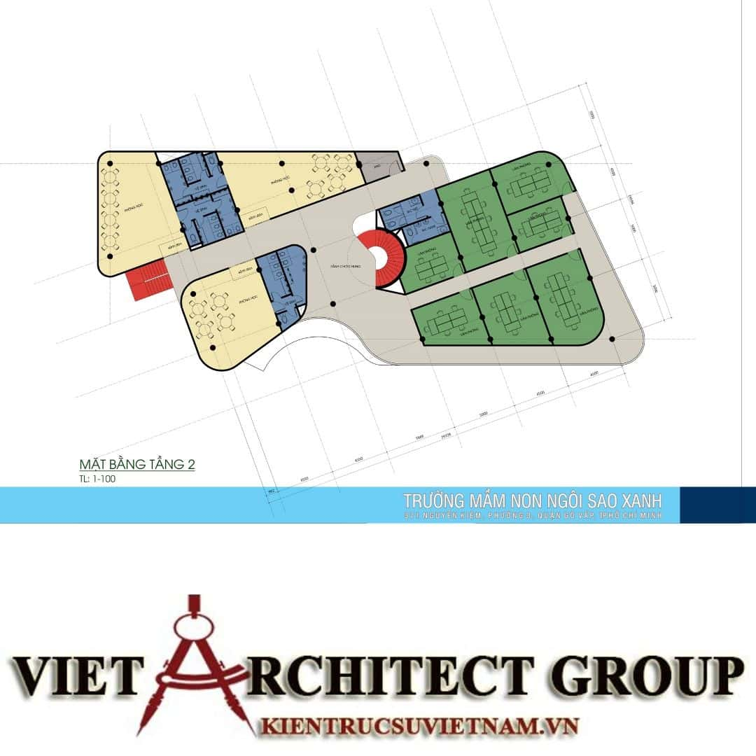 8 7 - Thiết kế trường mầm non quận Gò Vấp tiêu chuẩn quốc gia