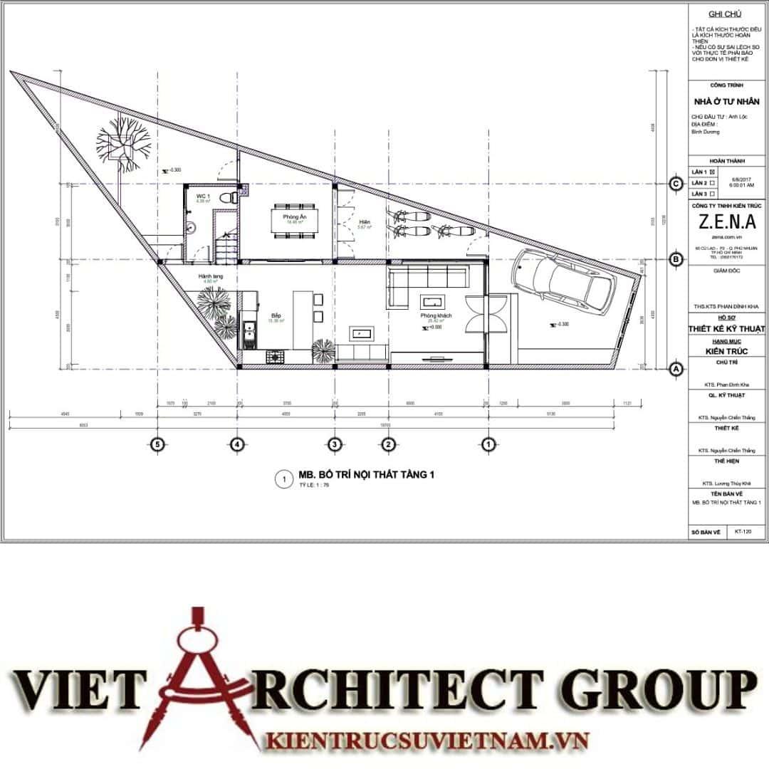 8 9 - Nhà ở hiện đại 150m2 anh Lộc, Bình Dương