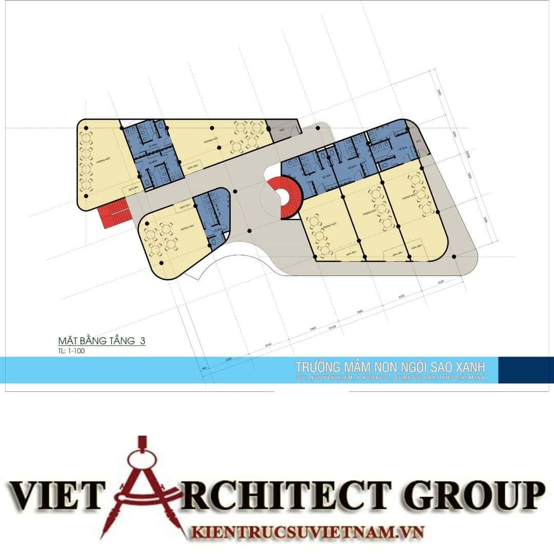 9 6 - Thiết kế trường mầm non quận Gò Vấp tiêu chuẩn quốc gia