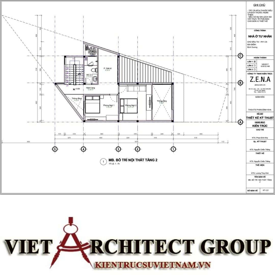 9 8 - Nhà ở hiện đại 150m2 anh Lộc, Bình Dương