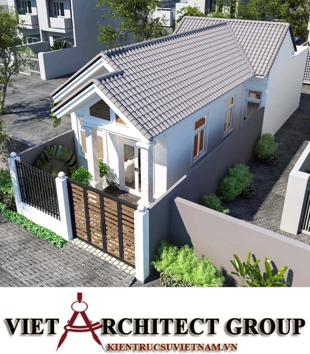 9 9 - Công trình nhà ở trệt mái thái diện tích 120m2 Mr Thi - Thủ Đức, TPHCM