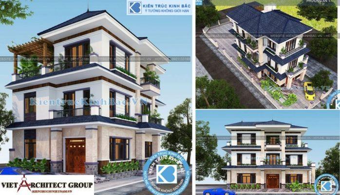 Thiết kế không tên 1 698x400 - Công trình biệt thự 3 tầng tân cổ điển 400m2 ở Hà Nam