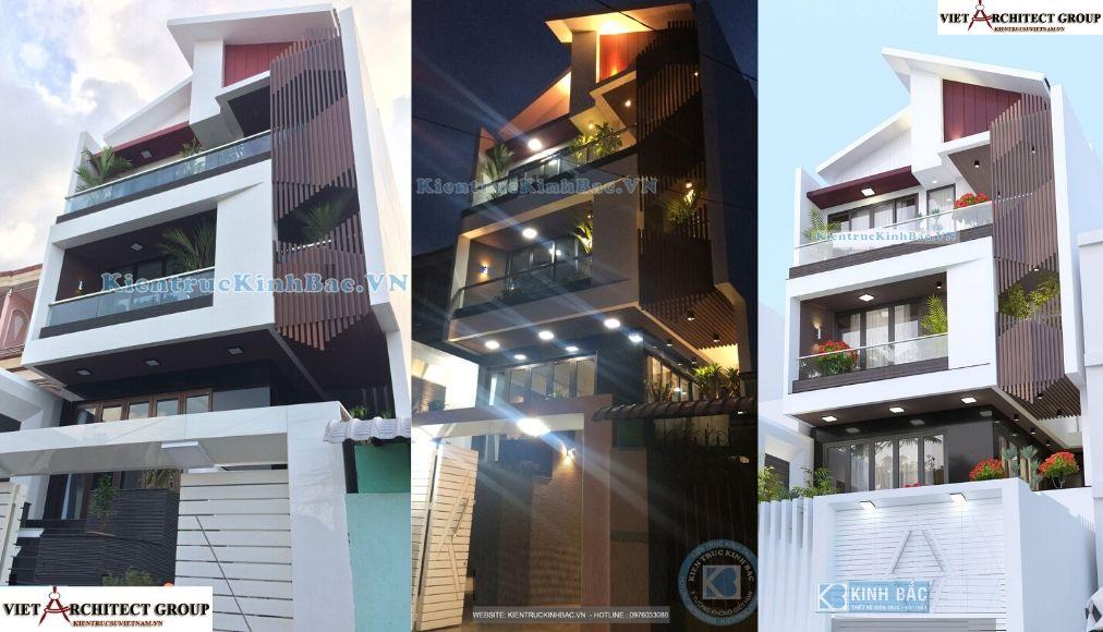 Thiết kế không tên 2 5 - Công trình thiết kế nhà phố mặt tiền 7.5m anh Tiến - Hải Phòng