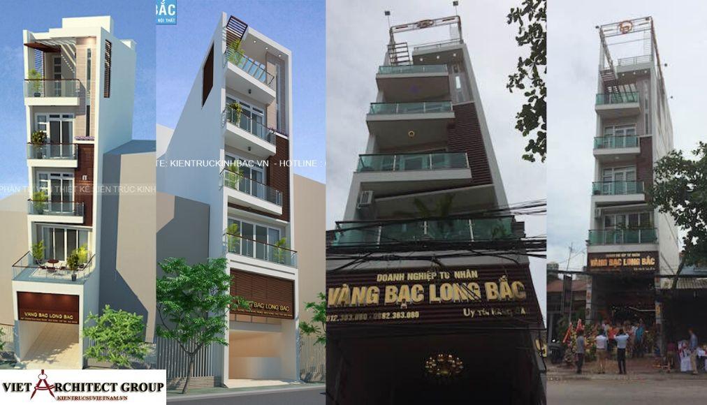 Thiết kế không tên 2 7 - Công trình thiết kế nhà ống 5 tầng anh Bắc - Hiệp Hoà, Bắc Giang