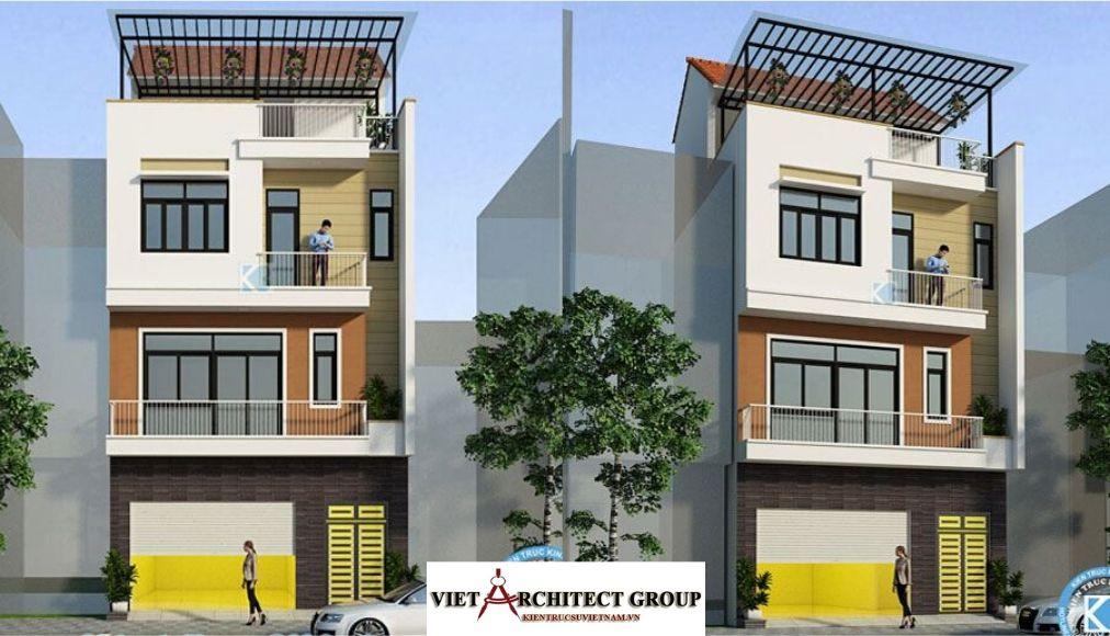 Thiết kế không tên 9 2 - Công trình nhà phố 4 tầng mặt tiền 7.5m anh Thắng - Hà Nội