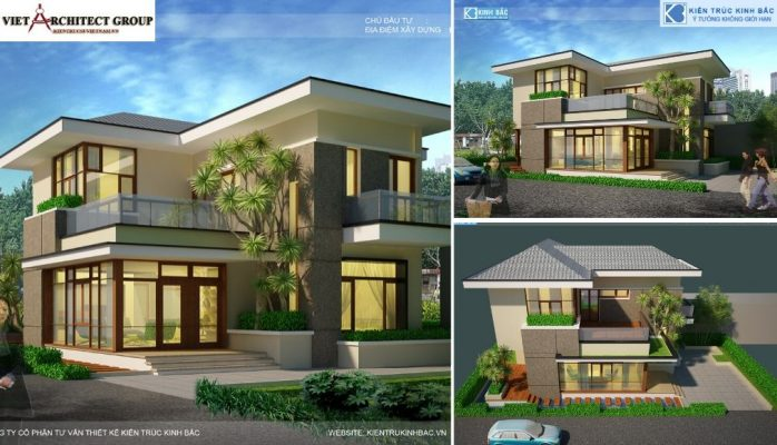 Thiết kế không tên 9 5 698x400 - Công trình biệt thự 2 tầng hiện đại tại chú Hùng - Phú Thọ