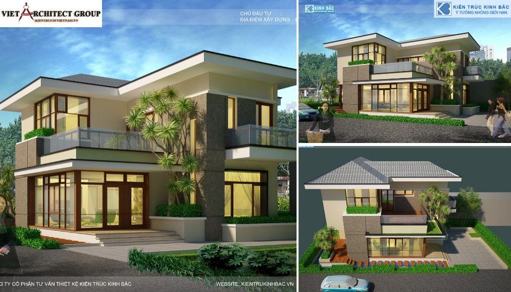 Thiết kế không tên 9 5 - Công trình biệt thự 2 tầng hiện đại tại chú Hùng - Phú Thọ