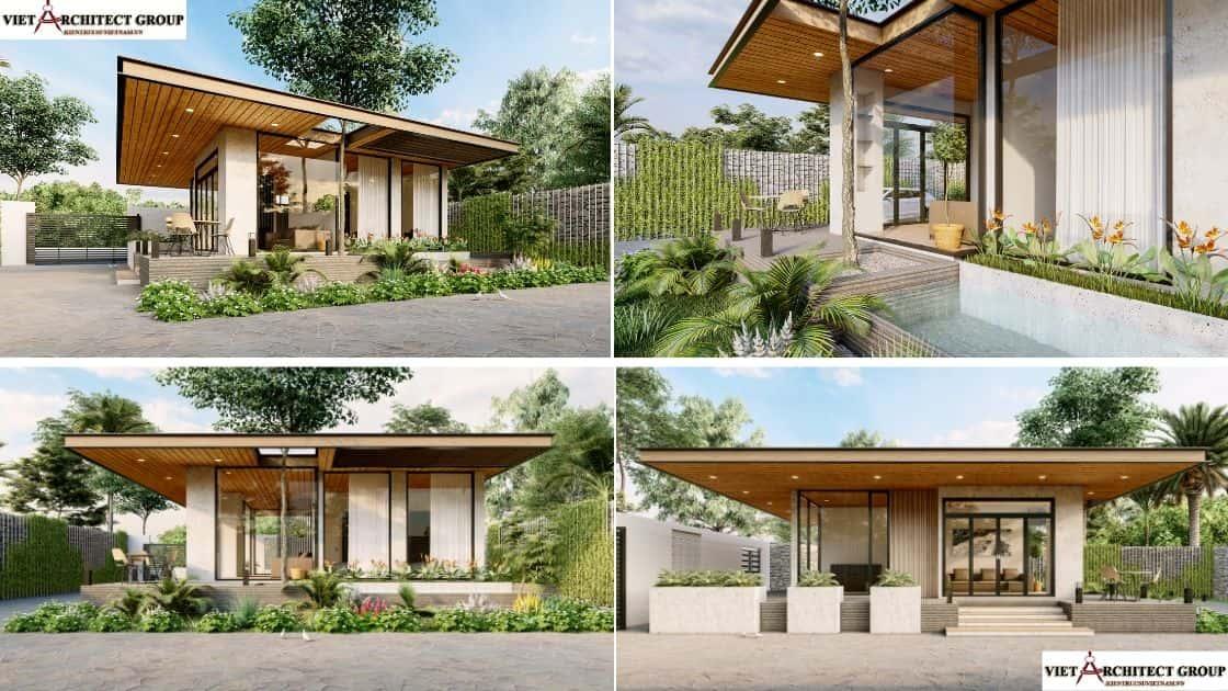 1 - 9 Mẫu thiết kế biệt thự hiện đại được nhiều lượt thích