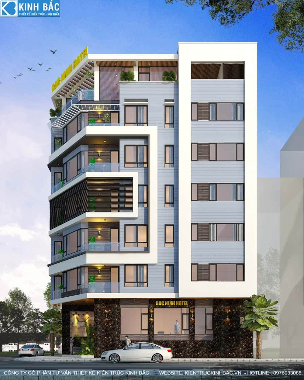 2ce0ce84e3521b0c4243 - Thiết kế khách sạn, nhà hàng office building