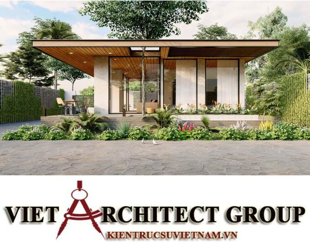 5 1 - Công trình thiết kế thi công biệt thự 1 tầng mr Tân kiến trúc hiện đại đẹp