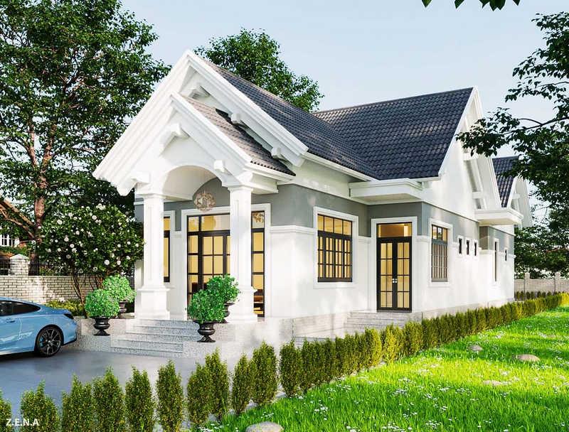 86272172 2610574259189105 4527281939601686528 o - Thiết kế nhà 1 tầng đẹp