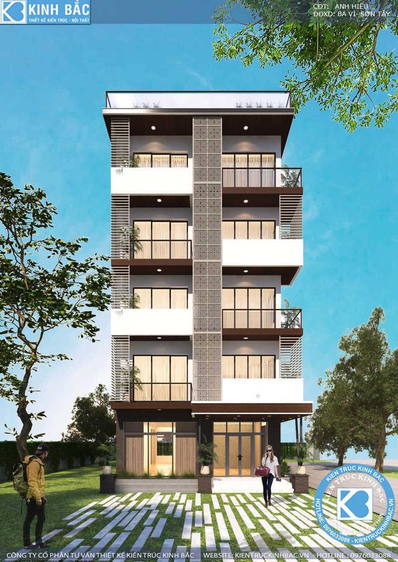 c6551edecc0934576d18 - Thiết kế khách sạn, nhà hàng office building