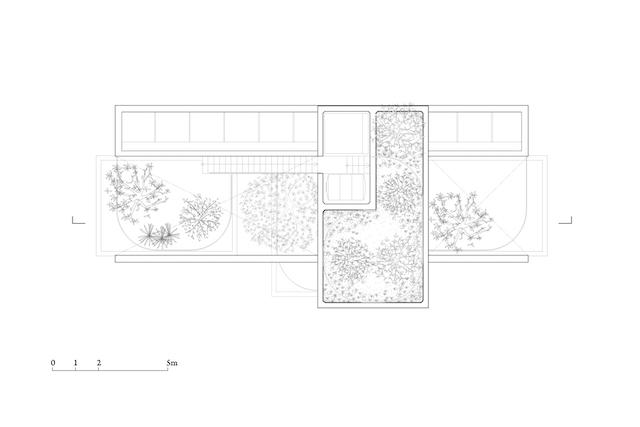 thiet ke biet thu dep dwg04 planRF - Binh House / VTN Architects: Ngôi nhà cây xanh cho các đô thị phát triển