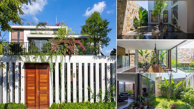 thiet ke biet thu hien dai - Stepping Green House / HGAA: không gian sống đô thị gần gũi với thiên nhiên