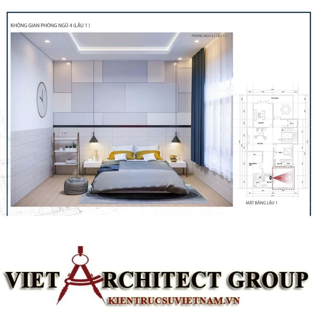 10 9 - Công trình biệt thự 1 trệt 1 lầu diện tích 15x40 chị Oanh, Vũng Tàu