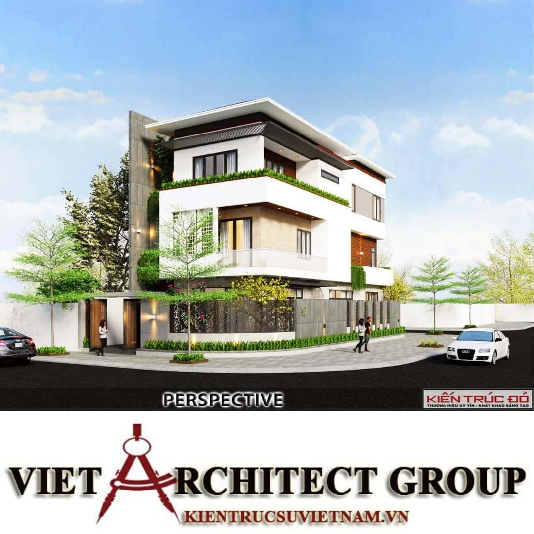10 - Công trình thiết kế biệt thự hiện đại Đà Nẵng với diện tích 250m2