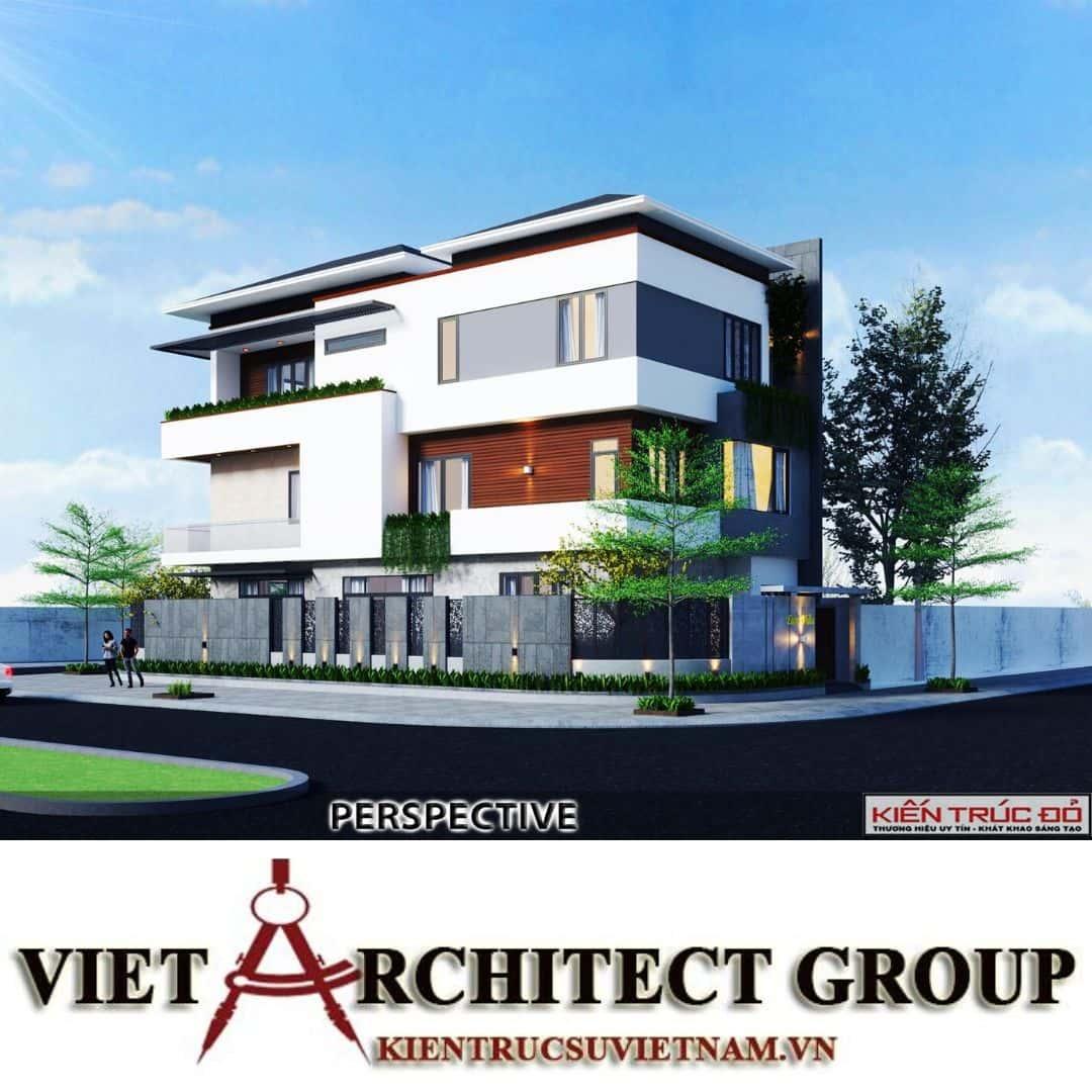 11 - Công trình thiết kế biệt thự hiện đại Đà Nẵng với diện tích 250m2