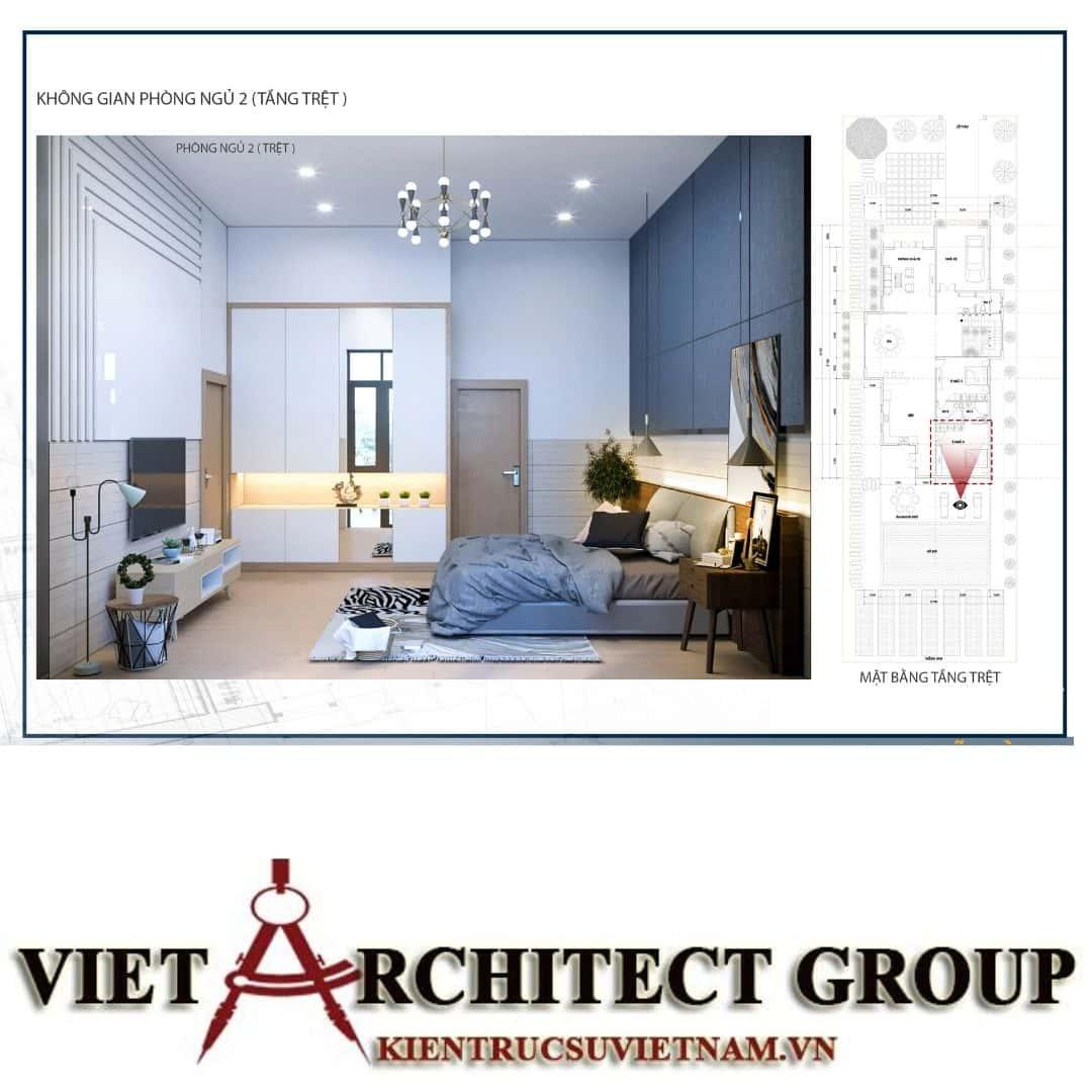 12 3 - Công trình biệt thự 1 trệt 1 lầu diện tích 15x40 chị Oanh, Vũng Tàu