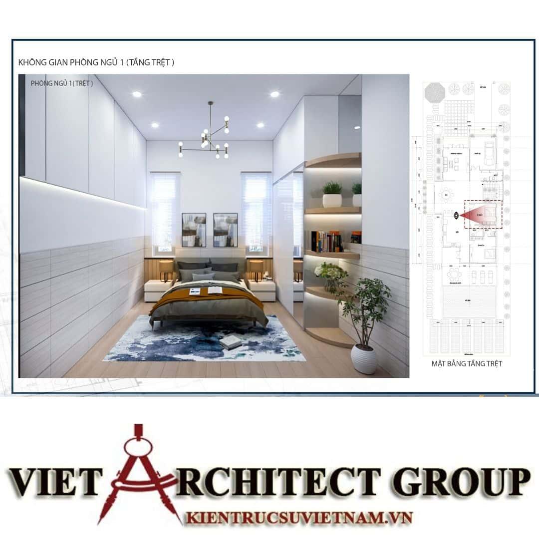 14 1 - Công trình biệt thự 1 trệt 1 lầu diện tích 15x40 chị Oanh, Vũng Tàu