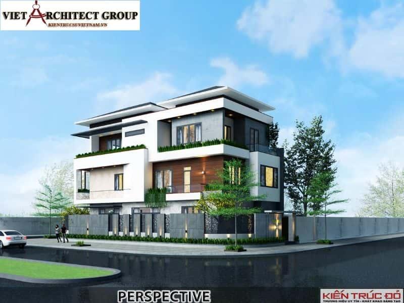 2 12 - Công trình thiết kế biệt thự hiện đại Đà Nẵng với diện tích 250m2