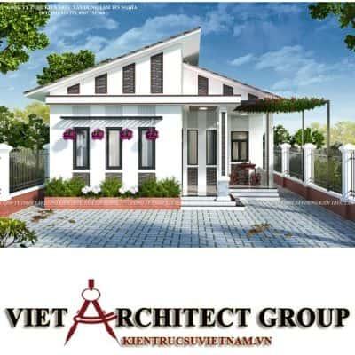 2 7 400x400 - Công trình nhà 1 tầng sân vườn chị Hạnh, Vị Thanh, Hậu Giang