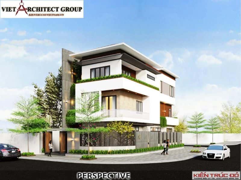 3 12 - Công trình thiết kế biệt thự hiện đại Đà Nẵng với diện tích 250m2