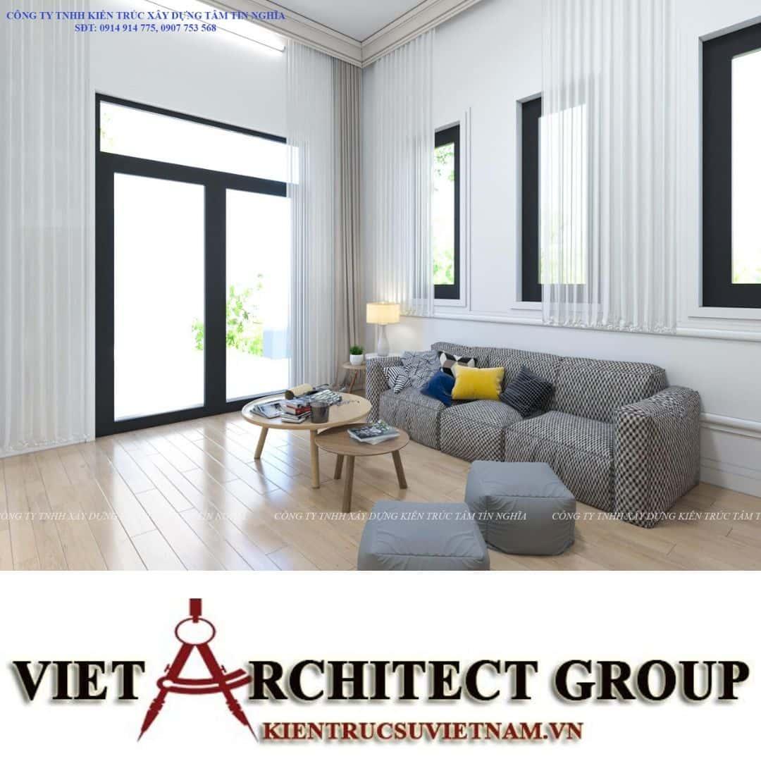 3 7 - Công trình nhà 1 tầng sân vườn chị Hạnh, Vị Thanh, Hậu Giang