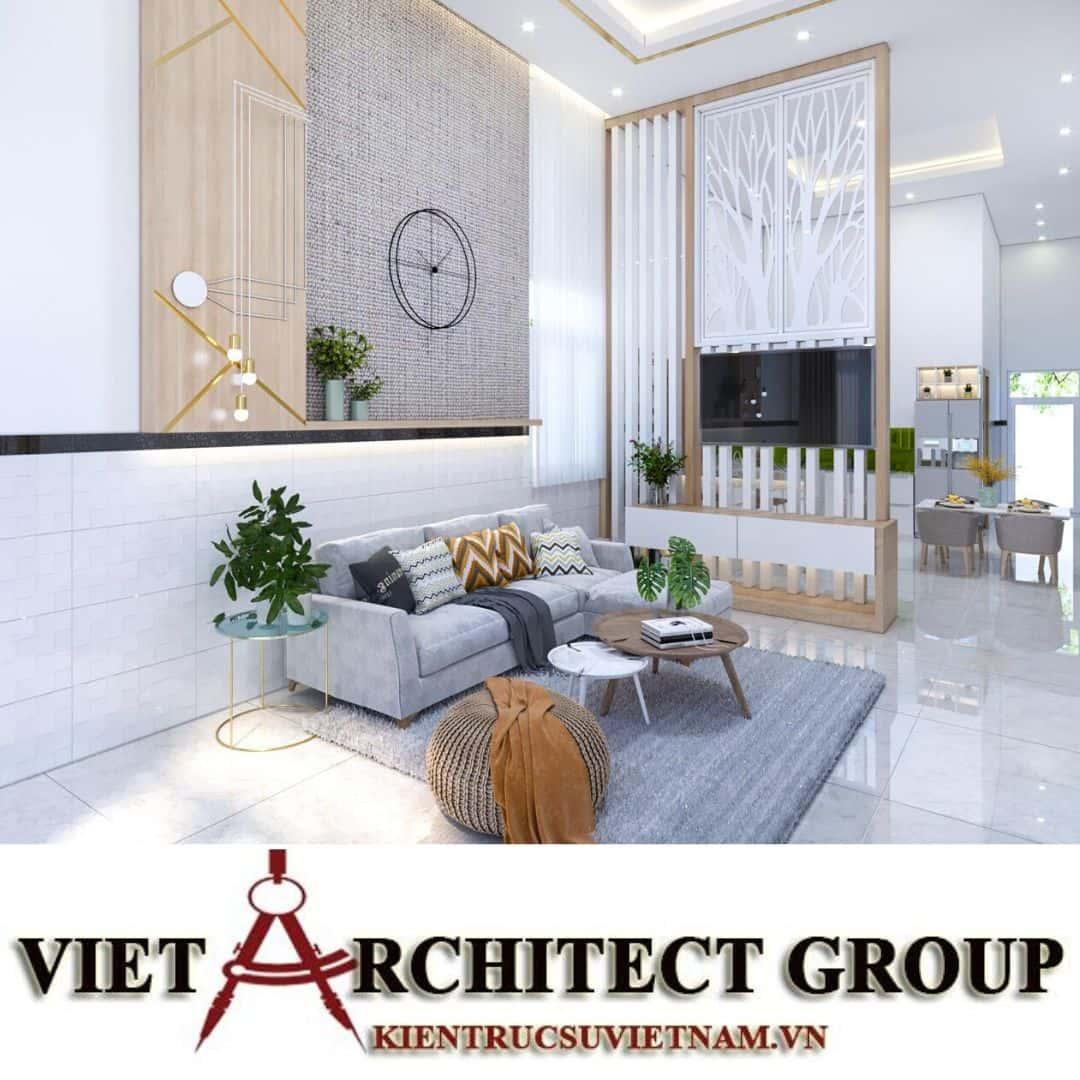 3 8 - Công trình biệt thự 1 tầng diện tích 350m2 chị Linh Đông Hải – Bạc Liêu