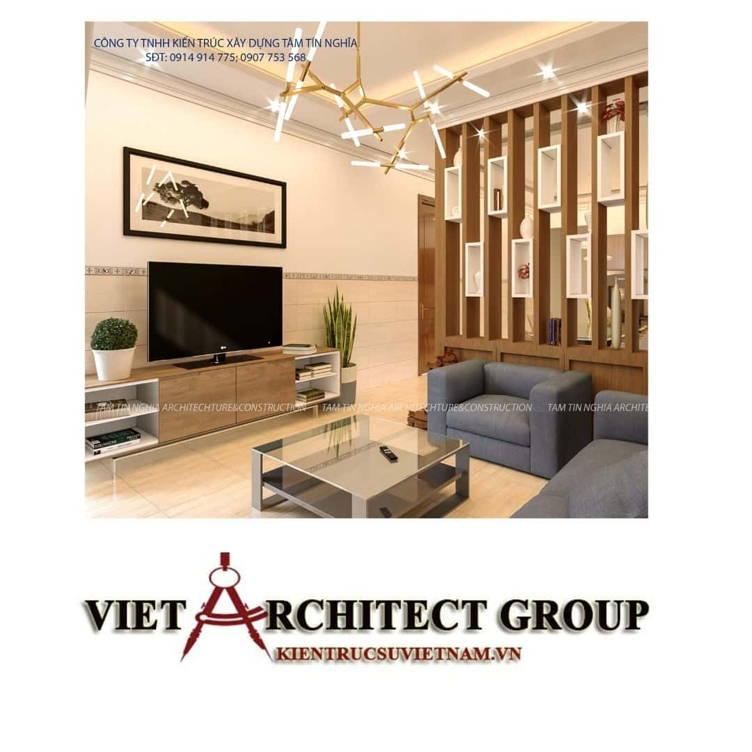 3 9 - Công trình biệt thự 1 tầng mái thái diện tích 200m2 chị Mỹ Trinh Thới Lai – Cần Thơ.