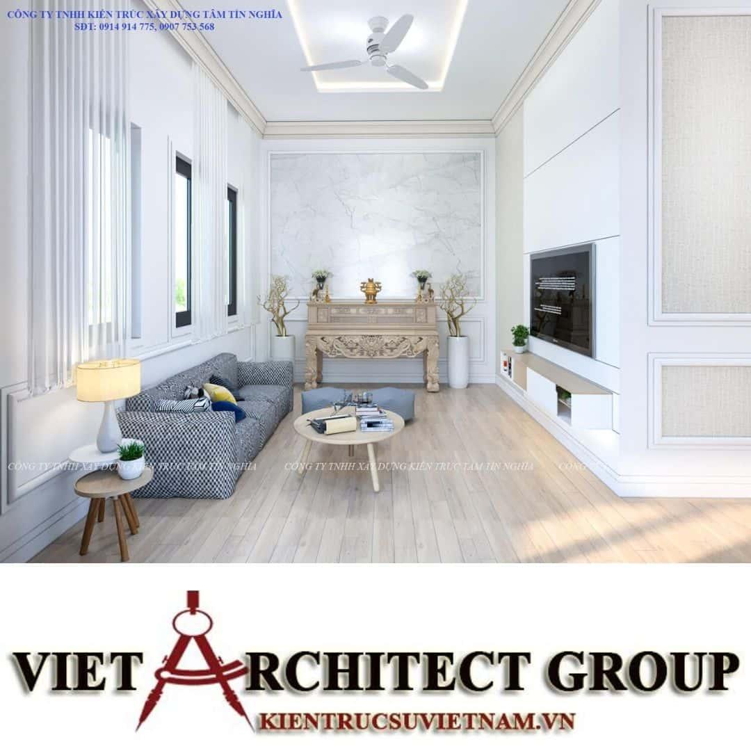 4 7 - Công trình nhà 1 tầng sân vườn chị Hạnh, Vị Thanh, Hậu Giang