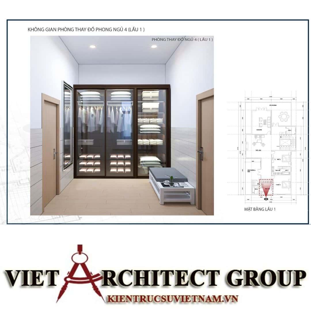 8 10 - Công trình biệt thự 1 trệt 1 lầu diện tích 15x40 chị Oanh, Vũng Tàu