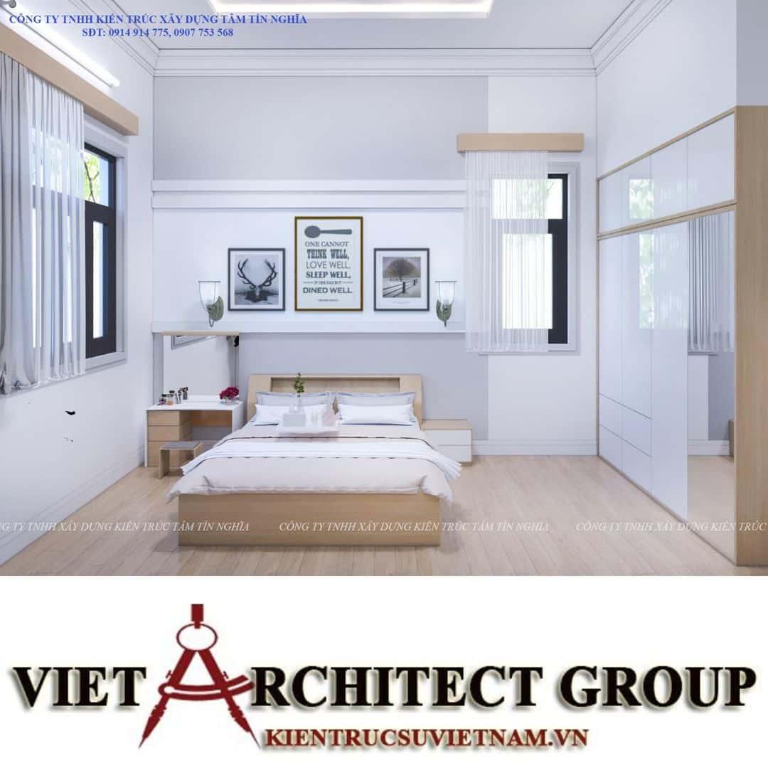9 7 - Công trình nhà 1 tầng sân vườn chị Hạnh, Vị Thanh, Hậu Giang